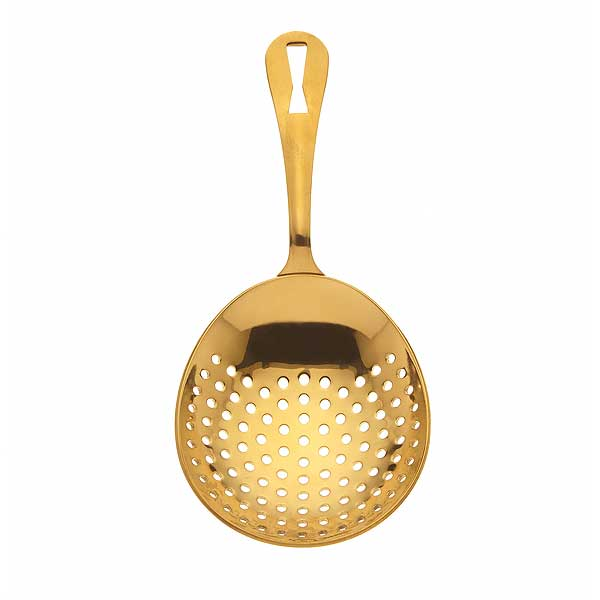 Mercer Barfly Julep Strainer 6-1/2 Inch Overall Length - M37028GD - QTY 12