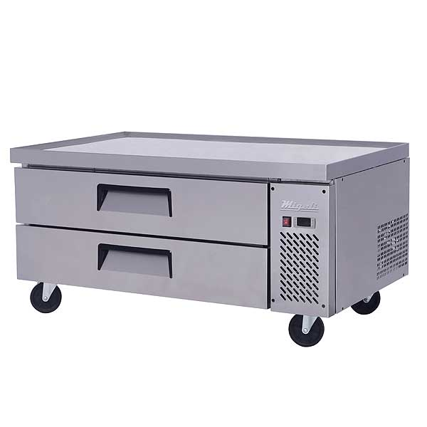 """Migali Competitor Series Refrigerated Equipment Stand/Chef Base Single Section 48.4"""" W - C-CB48-HC"""