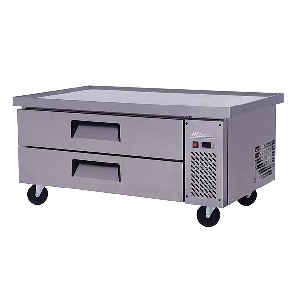 """Migali Competitor Series Refrigerated Equipment Stand/Chef Base Single Section 60.5"""" W - C-CB52-60-HC"""