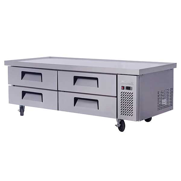"""Migali Competitor Series Refrigerated Equipment Stand/Chef Base Two-section 76"""" W - C-CB72-76-HC"""
