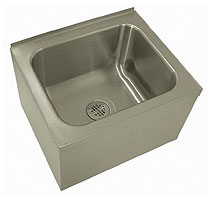 Stainless Steel 12 Inch Deep Mop Sink