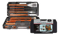 18 Piece Gourmet Stainless BBQ Tool Set