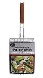 Deluxe Non-Stick Grill Basket