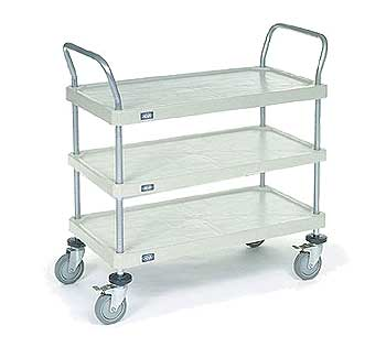 Nexel Three Tiered Utility Carts
