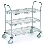 Nexel Wire Shelf Utility Cart