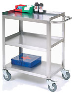 Stainless Steel Utility Cart from Nexel