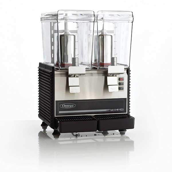Omega Drink Dispenser Compact Design (2) 3 Gallon Containers - OSD20