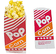 One Ounce Popcorn Serving Bags - Case of 1000