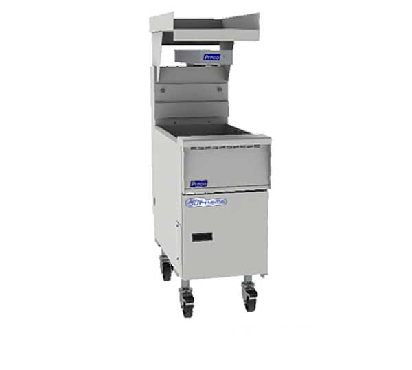 Pitco Solstice Supreme Bread & Batter Cabinet With BNB Dump Station Fryer Match Design - BNB-SSH60/75