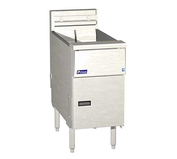 Pitco Solstice Fryer Electric Floor Model - SE14R