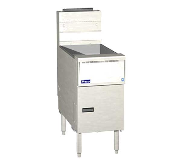 Pitco Solstice Fryer Gas Floor Model - SG14R-S