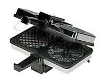 CucinaPro Pizzelle Baker with Non-Stick Grids