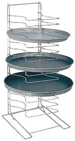 American Metalcraft 15 Shelf Standard Pizza Pan Rack - 19029