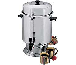 Regalware Stainless Steel Coffee Percolator - 110 Cup