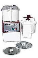 Robot Coupe Commercial Food Processor R2N With Vegetable Prep Attachment