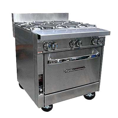 Southbend Platinum Heavy Duty Ranges - 32 Inch, 6 Burner BBB Models