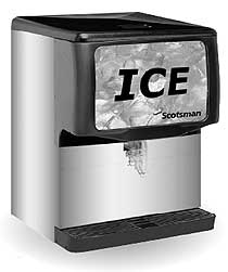 Scotsman 250 Lbs Countertop Ice Dispenser