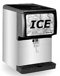 Scotsman Countertop Ice Dispenser ID150 - 22 Inches 150 Lbs Storage