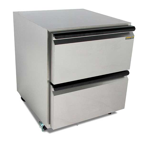 """Silver King Undercounter Refrigerator One-section 27""""W - SKR27AD/C10"""