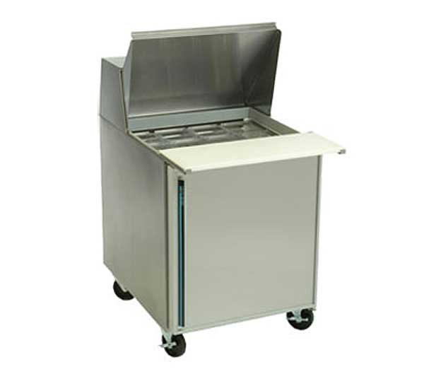 """Silver King Refrigerated Mega Top Prep Table One-section 27""""W - SKP2712A-ESUS2"""