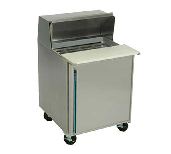 """Silver King Refrigerated Prep Table One-section 27""""W - SKP278A-ESUS2"""