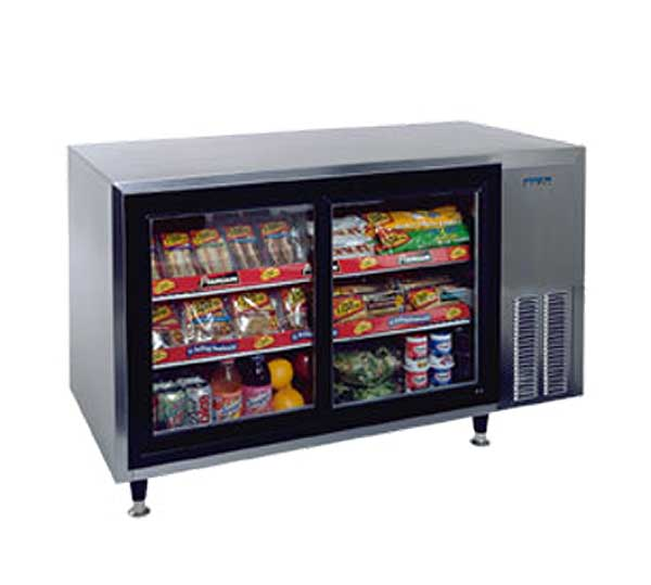 """Silver King Countertop Refrigerated Display Case 48""""W (2) Sliding Glass Doors - SKDC48/C10"""