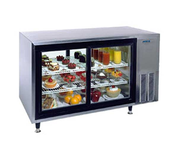 """Silver King Countertop Refrigerated Display Case Pass-thru 48""""W - SKDC48PT/C10"""
