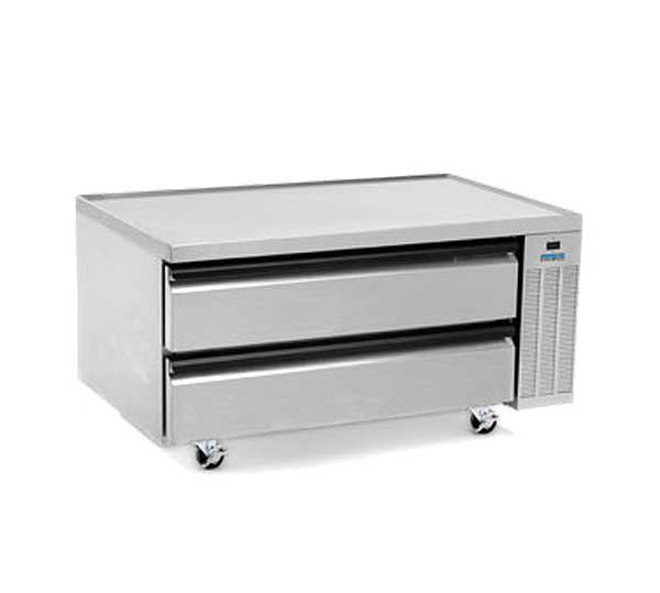 "Silver King High Capacity Freezer Chef Base One-section 50""W - SKFCB50H/C10"