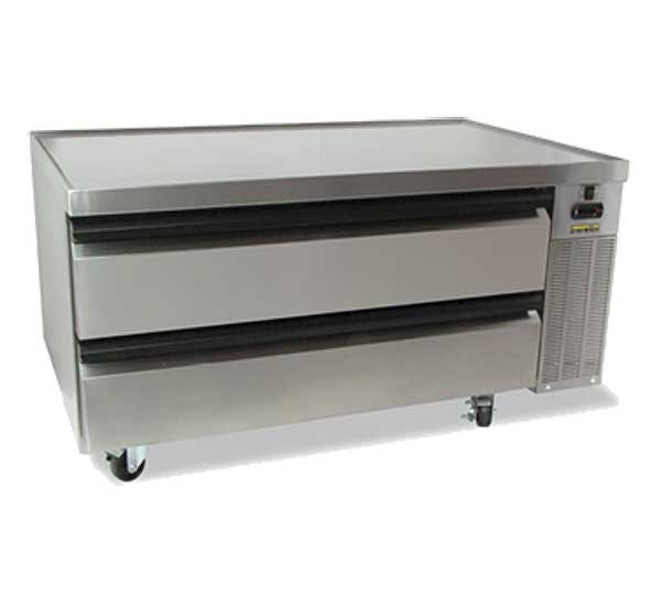 "Silver King High Capacity Refrigerated Chef Base One-section 50""W - SKRCB50H/C10"