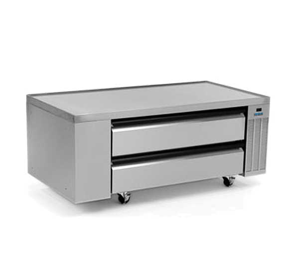 "Silver King High Capacity Refrigerated Chef Base One-section 60""W - SKRCB60H-RDUS10"