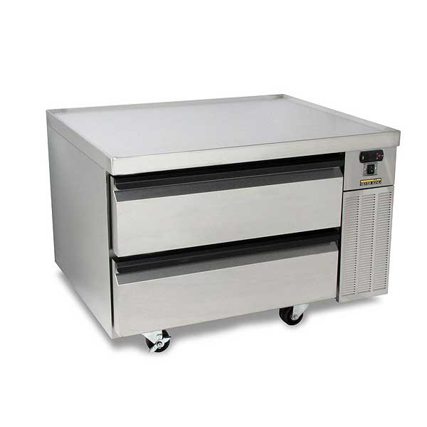 "Silver King High Capacity Refrigerated Chef Base One-section 38""W - SKRCB38H-RDUS10"