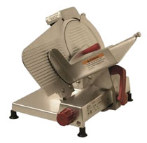 "9"" Meat Slicer - Polished Aluminum"