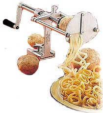 NEMCO French Fry Potato Cutter - Spiral Fries - 55050AN