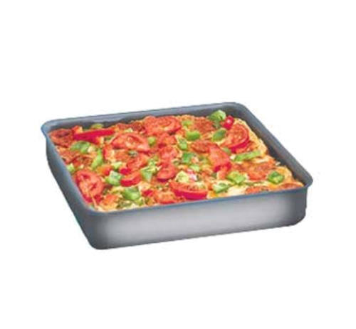 Sicilian Style Square Deep Dish Pans, 1-1/2 Inch Deep