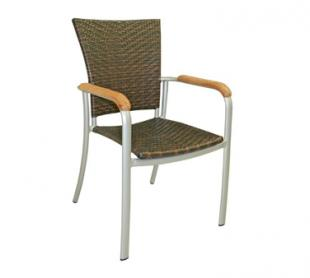 Florida Seating Chair AL-5605-SILV-SAF