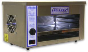 "Belleco Electric Countertop Convection Cheesemelter Oven JW1 - (1) 10"" Plate or (1) 12"" Platter Capacity"