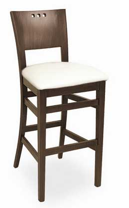 Florida Seating Bar Stool CN-94B-TRIO-GR1-WAL-WHITE