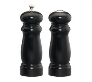 Salem Wood Salt & Pepper Mill Set