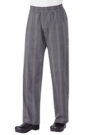 Chef Works Gray Plaid UltraLux Better Built Baggy Chef Pants