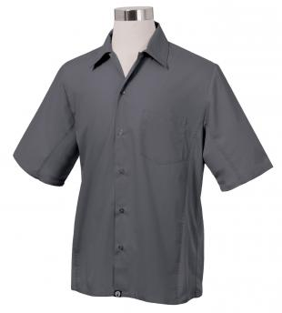 Chef Works Universal Cool Vent Kitchen Shirt, Gray - CSMVGRYXL