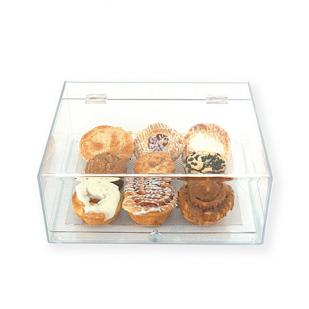 One Tier Lift-Front Acrylic Bakery Display Case BDT1