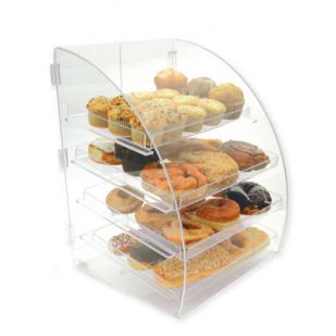 Goldleaf Four Tier Curved Front Bakery Display Case (Counter-Serve)