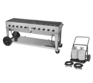 Crown Verity Outdoor Grill with Tank Cart MCC-72