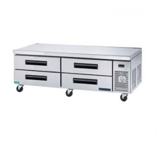 MaxxCold Refrigerated Chef Base MCCB84, 84 Inches Wide