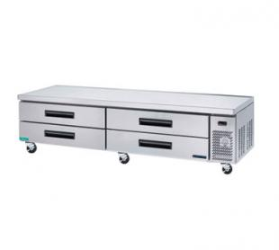 MaxxCold Refrigerated Chef Base MCCB96, 96 Inches Wide