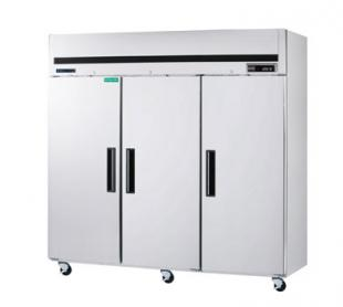 MaxxCold Reach-in Refrigerator, 3 sections MCRT-72FD