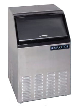 MaxxCold Ice Machine with Bin MIM100