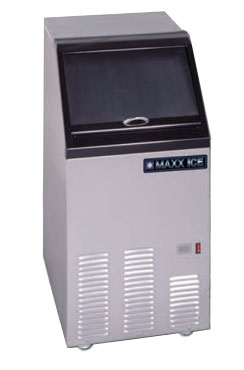 MaxxCold MIM75 Ice Machine with Bin