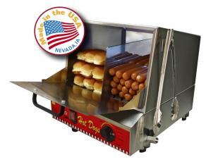 The Classic Dog Hot Dog Steamer And Merchandiser