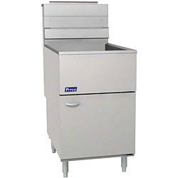 Pitco Gas Fryer, Full Pot With 65-80 Lbs. Capacity - 65C+S